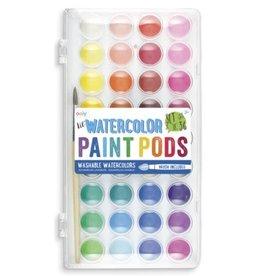 Lil' Watercolor Paint Pods & Brush