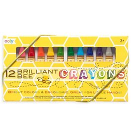 Brilliant Bee Crayons 12 pack