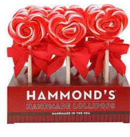 Heart Strawberry Shortcake Lollipop