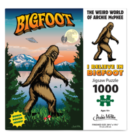 Bigfoot Puzzle 1000pcs