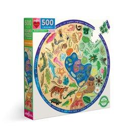 Biodiversity Round Puzzle 500pcs