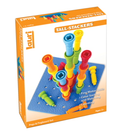 Tall Stackers Pegs & Pegboard Set