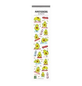 Avocado Asanas Stickers