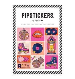 Disco Roller Vinyl Sticker