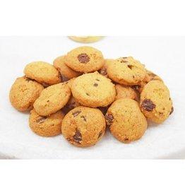 Chocolate Chip Rainbow Dot Cookies