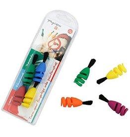 Fingermax Paintbrush 4 Pack