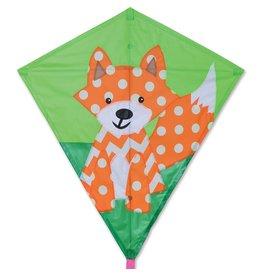 """Finn the Fox Diamond Kite 30"""""""