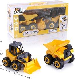 Take-A-Part Construction Trucks (Series 2)