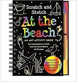 Scratch and Sketch At the Beach