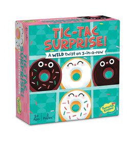 Tic-Tac Surprise! Chocolate & Vanilla Donuts