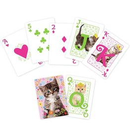 Kitties Playing Cards