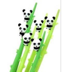 Panda Bamboo Wiggle Gel Pen