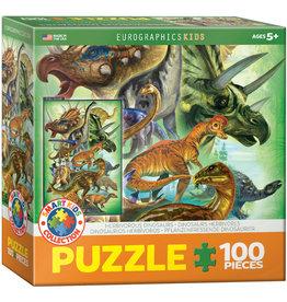 Herbivorous Dinosaurs 100pcs