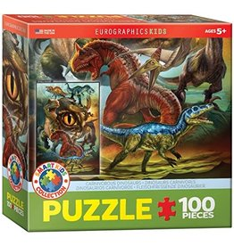 Carnivorous Dinosaurs 100pcs