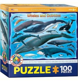 Whales and Dolphins 100pcs