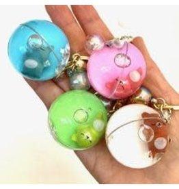 Sleeping Animal Ball Key Chain