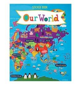 Our World Kids' Sticker Book