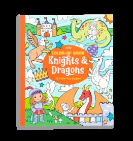 Knights & Dragons Coloring Book