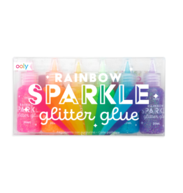 Rainbow Sparkle Glitter Glue