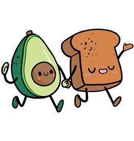 Avocado Squishable Stickers