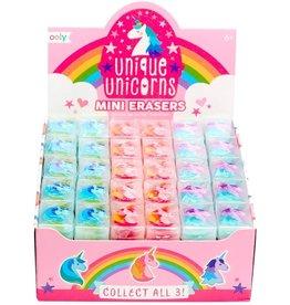 Unique Unicorns Mini Erasers