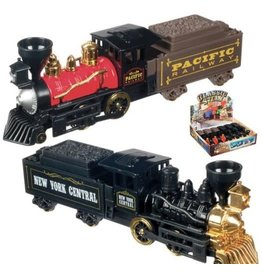 Pull-Back Classic Steam Engine