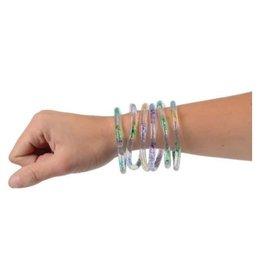 Rainbow Glitter Water Bracelets