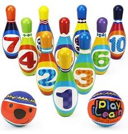 Soft Number Bowling Set