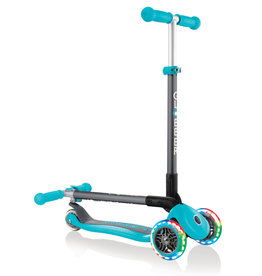 Teal Primo Scooter w/Lighted Wheels
