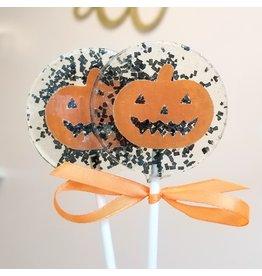 Jack-O-Lantern Pumpkin Lollipop (Mandarin)