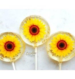 Sunflower Lollipop (Black Cherry)