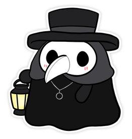 """Plague Doctor Sticker 3"""""""
