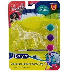 Suncatcher Unicorn Paint & Play Asst.