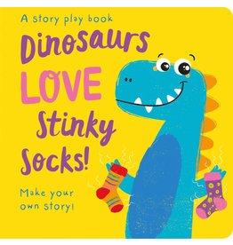 Dinosaurs Love Stinky Socks