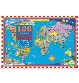 World Map Puzzle 100pcs