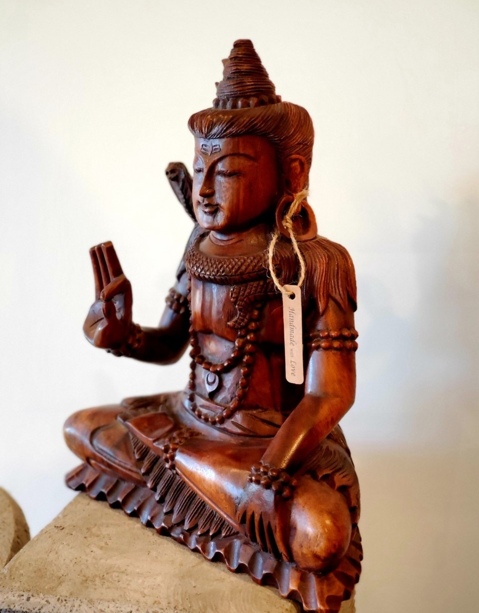 Meditating Shiva Statue