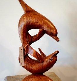 Dancing Dolphins Sculpture