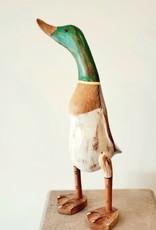 Bamboo Root Mallard Duck