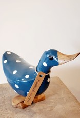 Bamboo Root Small Navy Duck