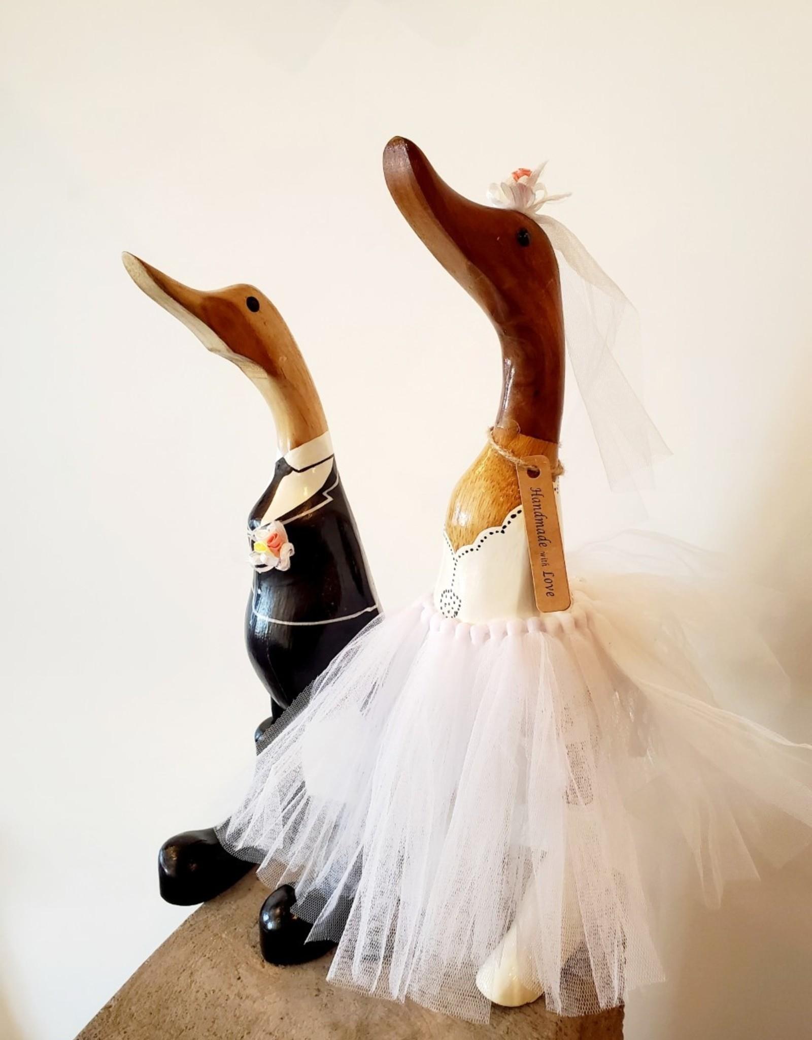 Bamboo Root Wedding Ducks