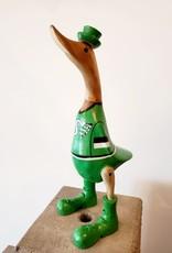 Bamboo Root Saskatchewan Roughrider Duck