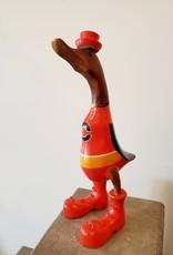 Bamboo Root Calgary Flames Duck