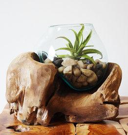 Small Handblown Glass
