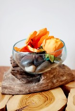 Small Salad Bowl Handblown Glass
