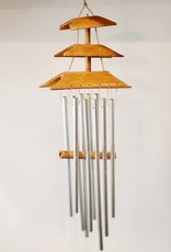 Wooden Boat Chime