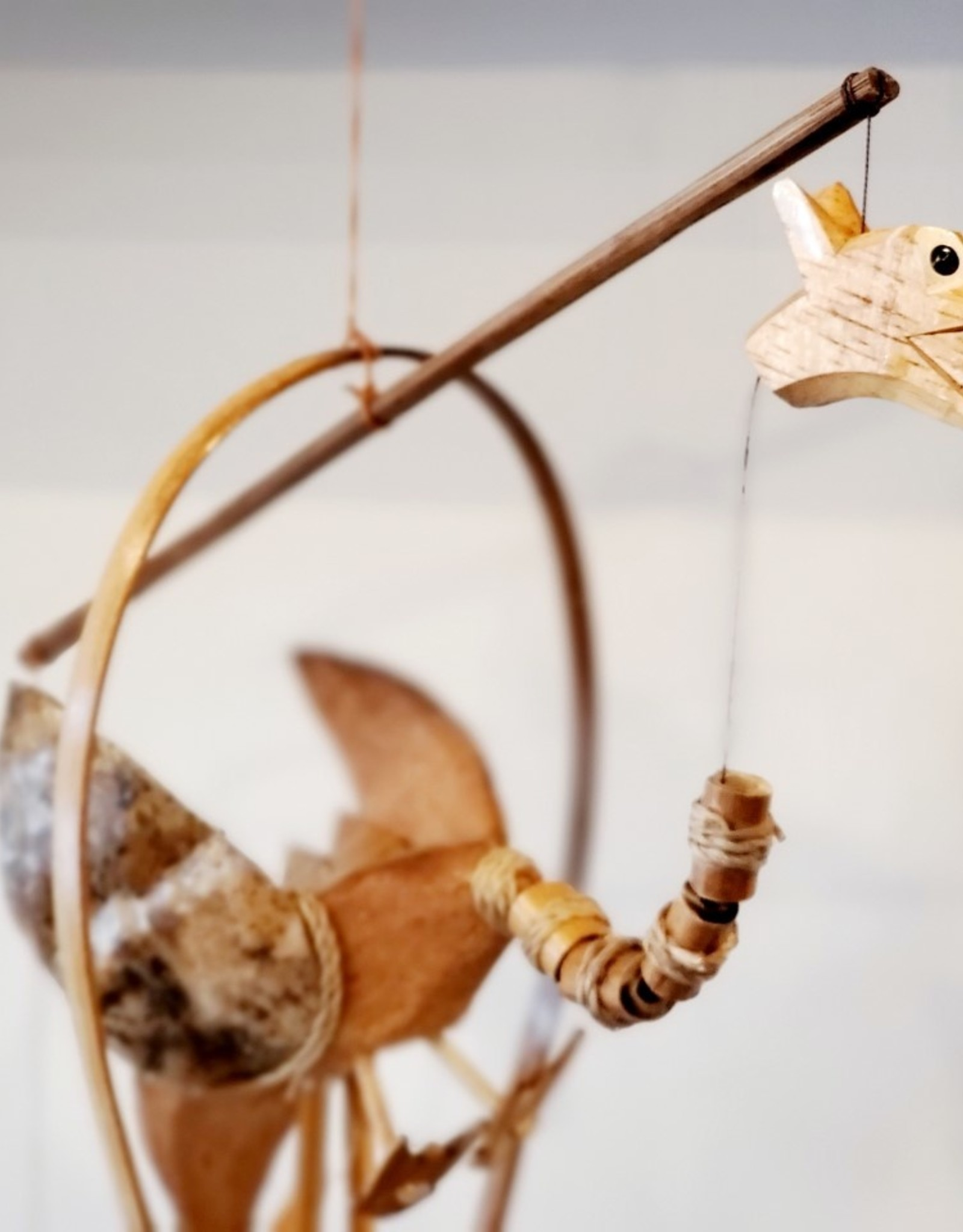Wooden Dragon Chime