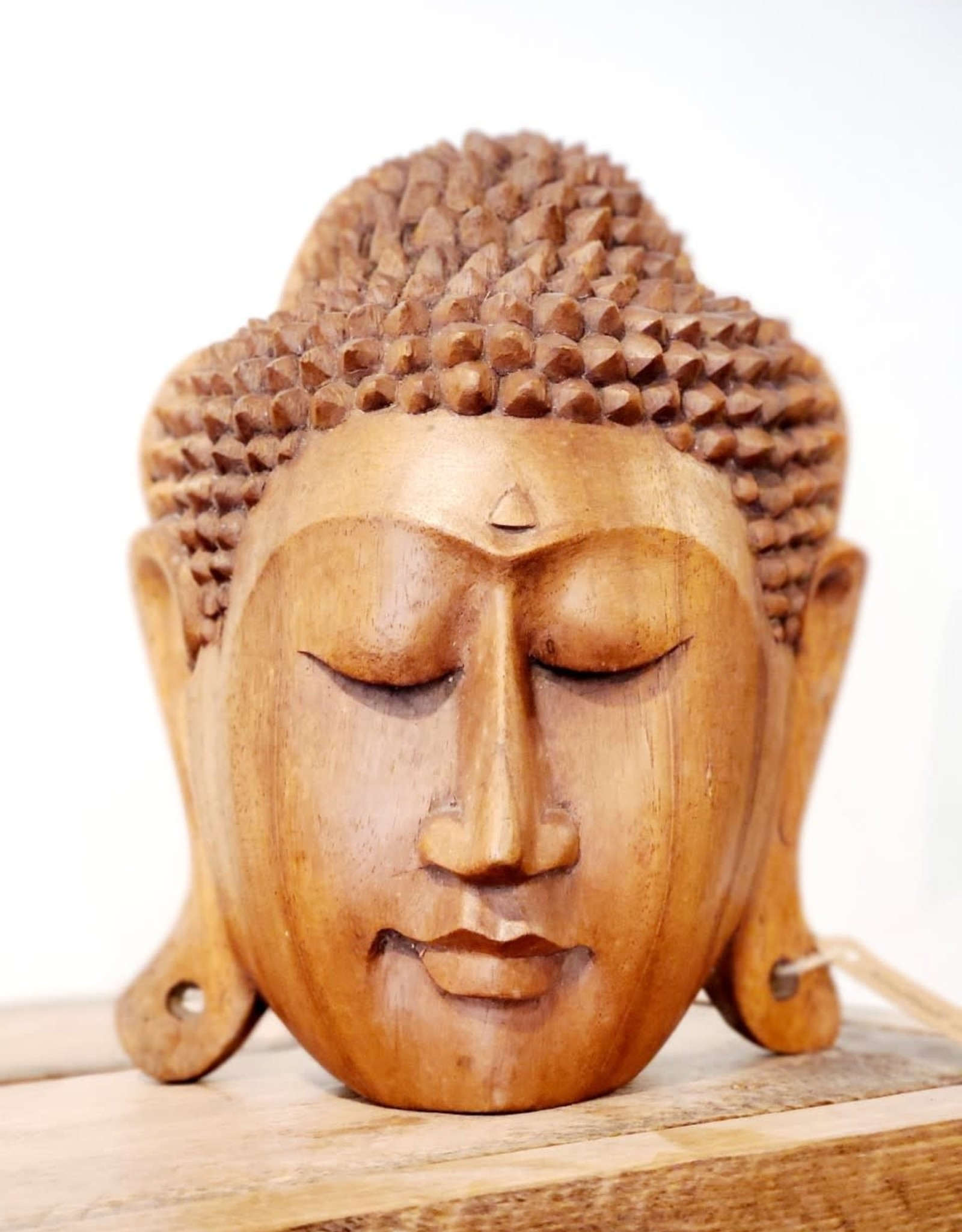 Buddha Face Carving