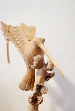 Hummingbird Carving