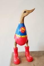 Bamboo Root Superman Duck