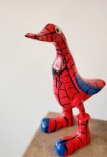 Bamboo Root Spiderman Duck